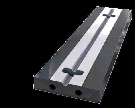 Schlagleiste / Schlagleisten / blow bar teilweise mechanische bearbeitet